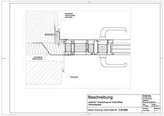 B-01-0003 Türanschluss an hinterlüfteter Klinkerfassade