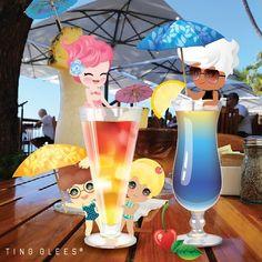 비도 오는데 트로피칼 칵테일 한 잔 하고 싶은 저녁이네요~~ 모히또 가서 몰디브 한잔~ . I wish to sip a tropical caktail when it's rainy day.  . #tingglees #tingglee #tropical #cocktail #sweets #fruits #summer #sweet #팅글리 #여름 #칵테일 #트로피칼 #스윗한요정