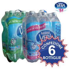 Acqua oligominerale frizzante e naturale. Conf. 6 bottiglie da lt.1.5 a soli € 1,49!!