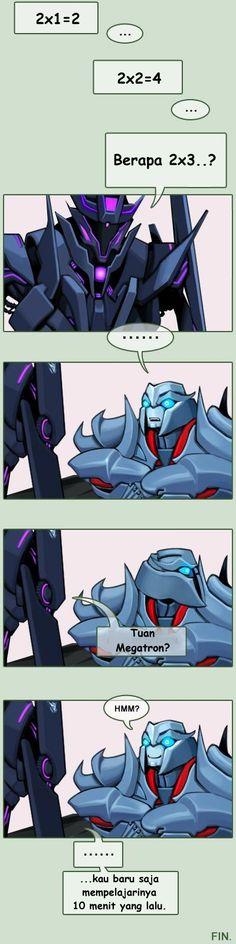 Komik Transformers Lucu | Megatron (3)