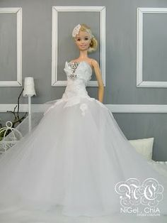 NiGel.ChiA a fashion design victim: 2010 Collection- Barbie Romance Couture