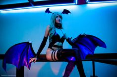We should meet again tonight... Sexy Morrigan from Darkstalkers by RizzyOkuni on DeviantArt