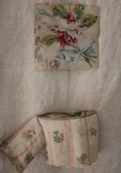 French Fabric - I have the bottom fabric framed in my office!!!!! Can't believe I found it here. 18th century...