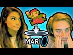 PewdiePie and CutiePie play Mari0 (Mario+Portal), possibly the most awesome crossover game idea of all time.