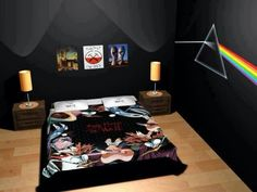 An Awesome pink floyd bedroom, yes, I'll make it! For sure! ;)