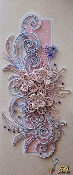 Paper Quilling Tutorial, Quilled Paper Art, Origami Paper Art, Paper Quilling Designs, Quilling Paper Craft, Quilling Jewelry, Quilling Patterns, Neli Quilling, Quilling Ideas