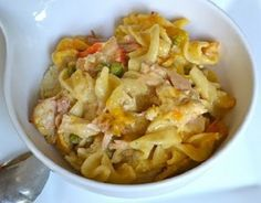 Chicken Noodle and Dumpling Casserole