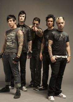 Avenged Sevenfold, I love them, and the new drummer is good, but I miss Jimmy with all my heart.