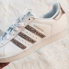 Swarovski Adidas Original Superstar Silver Metallic