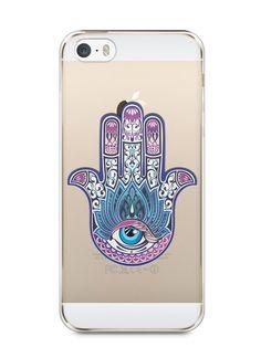 Capa Iphone 5/S Mão de Hamsá #1 - SmartCases - Acessórios para celulares e tablets :)
