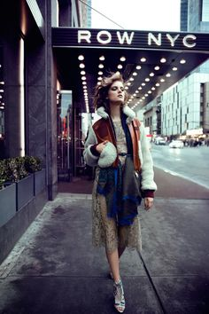 Street style, very natural style, could be a possibilities? and of course ill over power the sun a little