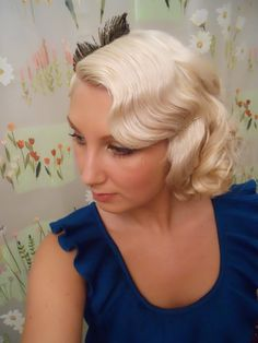 check out Tami's awesome finger wave and vintage hair tutorials @ http://mymovingfingerwrites.blogspot.com