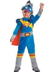 Toddler Boys Super Grover Costume - Sesame Street  sc 1 st  Pinterest & Child Moon 3D Costume | Holiday - Halloween | Pinterest | Moon ...