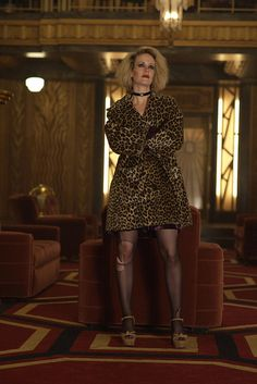 "Sarah Paulson as Hypodermic Sally in ""American Horror Story: Hotel"""