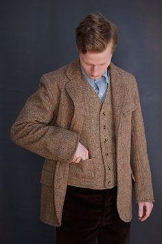 Old Town - Lounge jacket in Harris Tweed