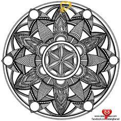 Hand-Drawn Mandala by WelshPixie on DeviantArt Hand-Drawn Mandala by WelshPixie<br>