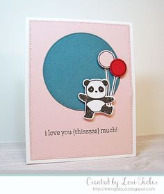I Love You Thisssss Much card-designed by Lori Tecler/Inking Aloud-stamps from Mama Elephant