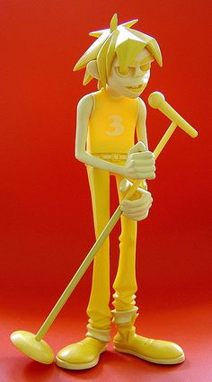 Kidrobot gorillaz vinyl figure