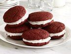 not making red velvet, but making these with YELLOW filling