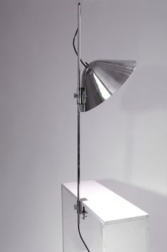 Flos, Brescia. Adjustable light for table fixture, 1970