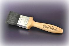 Personalised decorating paintbrush  Father's by CoveCalligraphy