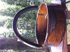 $1.99 Bear pottery baking basket. Signed