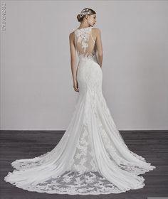 f3b3d9ba37d6 Erin bridal gown by Pronovias available at Martellen's Dress and Bridal.  #marriedbymartellens #martellensbridal