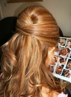 Bridesmaid hair :)