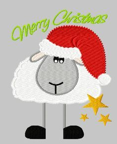 100 days of Happiness - Day 5 Cute Embroidery, Machine Embroidery Applique, Applique Patterns, Applique Designs, Cross Stitch Embroidery, Embroidery Designs, Embroidery Software, Free Design, Christmas Stockings