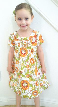 Oliver + S Family Reunion Dress on Charlotte by Ellie@CraftSewCreate, via Flickr
