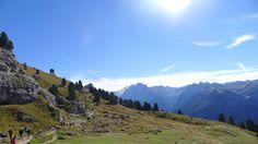 The Dolomites in Val Gardena