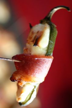 Bacon Wrapped Jalapeno's! So simple!