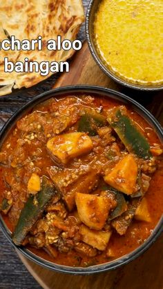 achari baingan recipe | achari aloo baingan | achari begun ki recipe with detailed photo and video recipe. a unique and fusion spicy curry recipe made with a combination of pickle masala, sliced eggplant and potatoes. it is a perfect curry for most of the indian flatbreads including the deep-fried poori and bhatura, but can also be served with rice. generally, the curry is made with just baingan, but this recipe prepares a combination of eggplant and potatoes for a perfect spicy curry. Spicy Recipes, Curry Recipes, Cooking Recipes, Keto Recipes, Chaat Recipe, Biryani Recipe, Aloo Poori Recipe, Indian Veg Recipes, Indian Dessert Recipes