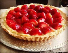 Tartaleta de fresas Cheesecake, Pie, Desserts, Food, Deserts, Strawberry Fruit, Torte, Tailgate Desserts, Cake