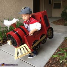 Conductor and Vintage Train Homemade Costume