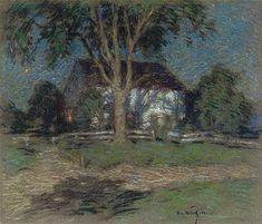 Moonlight - Willard Leroy Metcalf - 1906