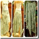 TUTE: Gypsy Skirt (and a Hawaiian pleated skirt) - CLOTHING - the tutorial doesn't exactly make sense, but I think I could figure it out [: