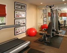 Home Gym Design, Pictures, Remodel, Decor and Ideas - page 9