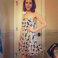 Flower print dress Beautiful sun dress. EUC, price is firm unless bundled. Get it before it's gone  Bella D Dresses Strapless