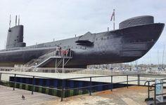 HMS Alliance, Royal Navy Submarine Museum  and Spinnaker Tower, Hampshire  #uktravel #familytravel #submarine