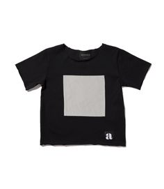 Gray square patch t-shirt Patches, Crop Tops, Gray, Mens Tops, T Shirt, Women, Fashion, Supreme T Shirt, Moda