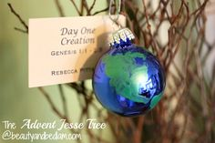The Advent Jesse Tree @jen (Balancing Beauty and Bedlam/10 Minute Dinners blogs). Such a special way to prepare your heart for the advent season, plus lots of ornament ideas
