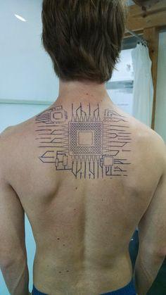Circuit Tattoo Designs (28)