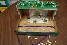 Leprechaun Traps..Want to tie this into social studies by making it out of recycled things! :)