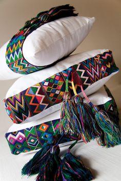 Maggie Galton #Textil #Mexico #Color
