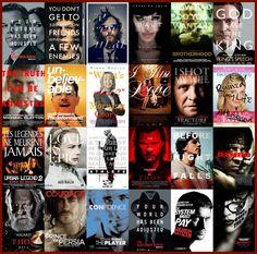 tendencias de #diseño, q demuestran ciertas coincidencias cuando se trata de representar #películas en afiches