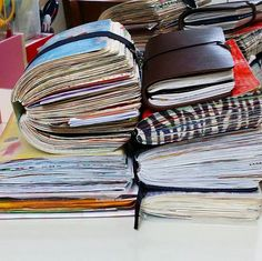 I dream of having a stack like this one day. Journal Goals!