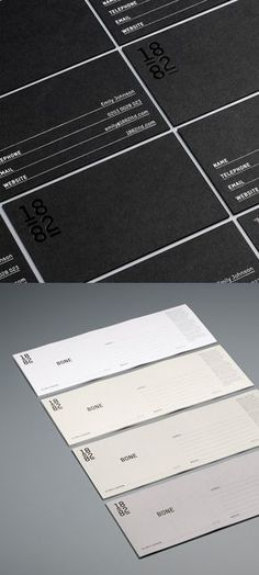 The folks at Pentagram have created this beautiful identity and packaging for ceramics company, 1882 LTD.