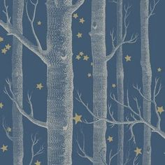 Woods and Stars wallpaper, Whimsical collection | Cole & Son