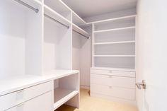 Hardware: Walk-in Closet